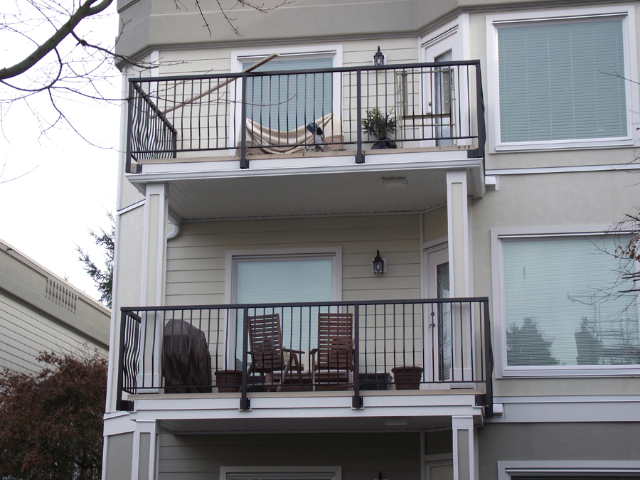 Commercial Deck Construction Aluminum Railings And