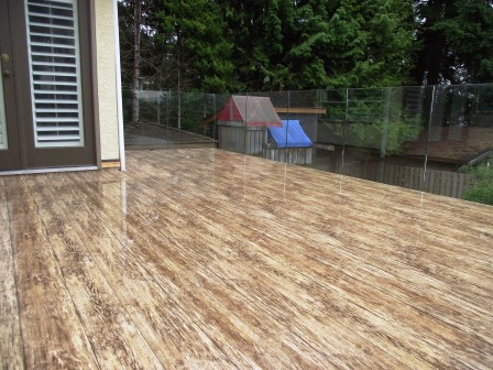 Decking materials decking material vancouver for Vinyl decking material