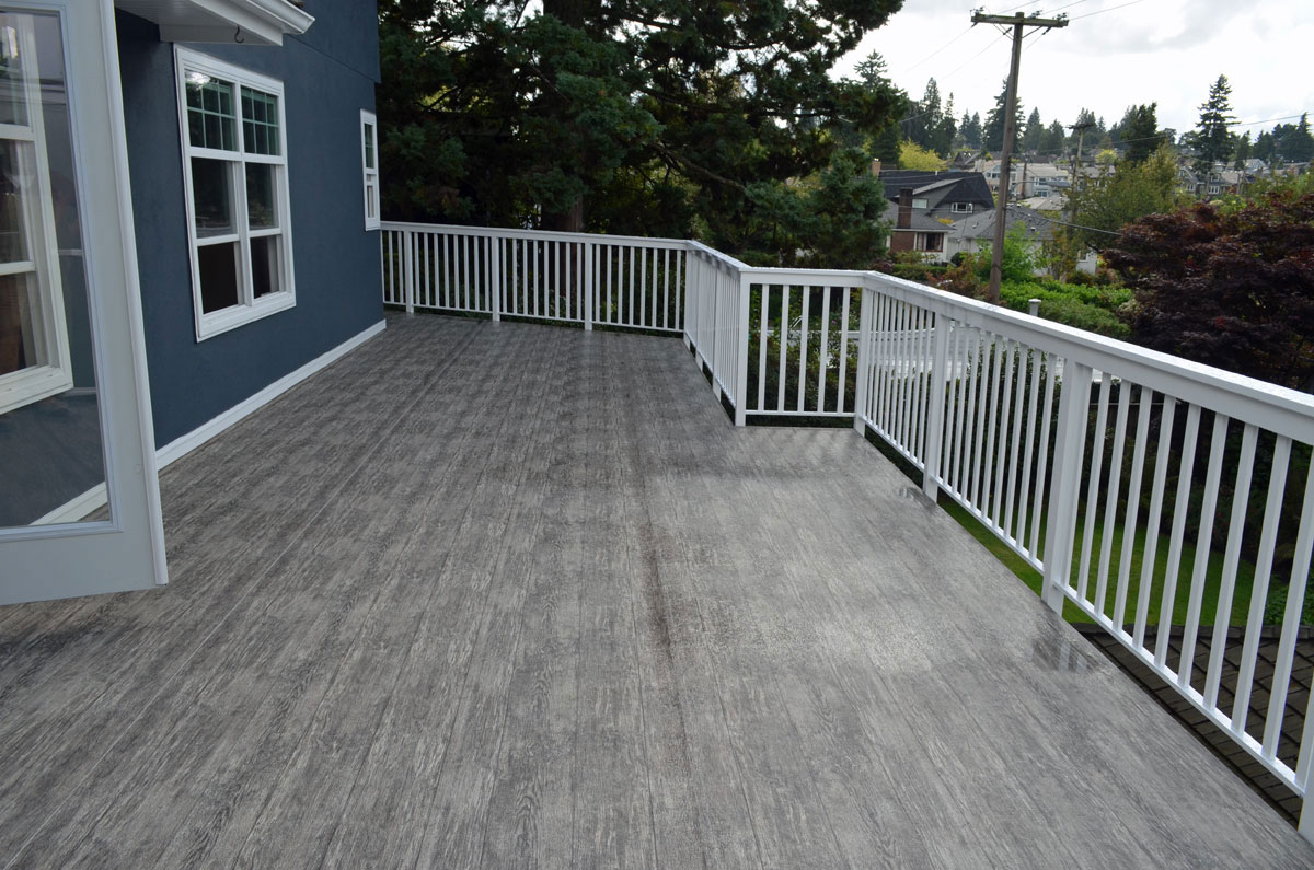 Deck vinyl flooring wood floors - Vinyl deck tiles ...