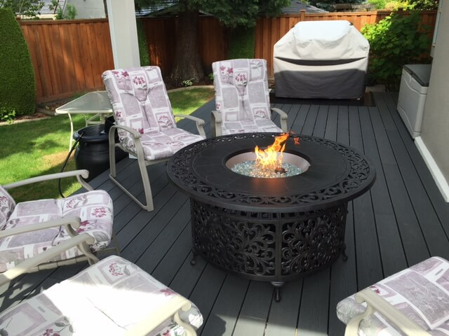 Trex decking in Burnaby