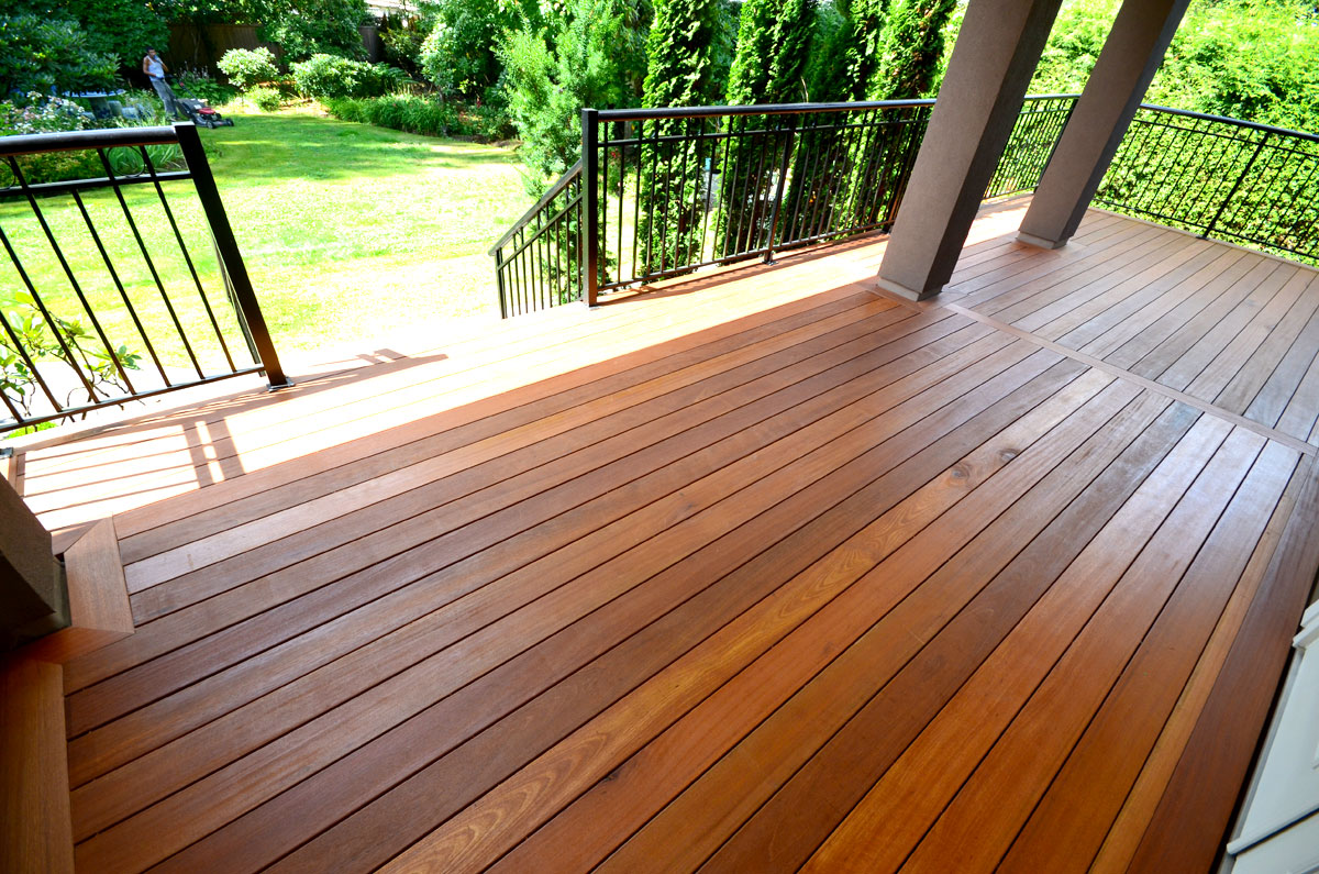 Cedar decking wood decks coquitlam for What is the best wood for decking