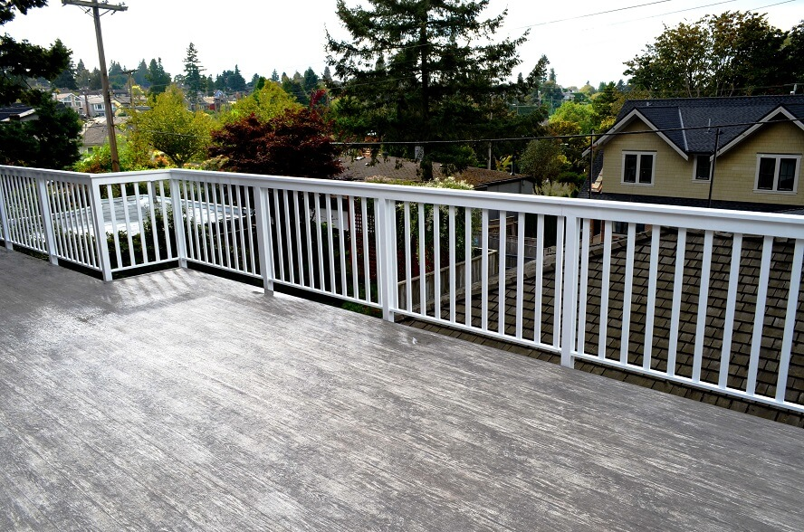 Vinyl Deck Covering Offering Your Deck Area Waterproof