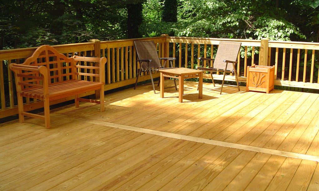 Pressure Treated Decking Installation In Vancouver Arbutus Vinyl