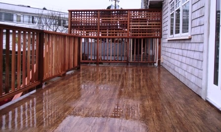 Cedar-deck-railings