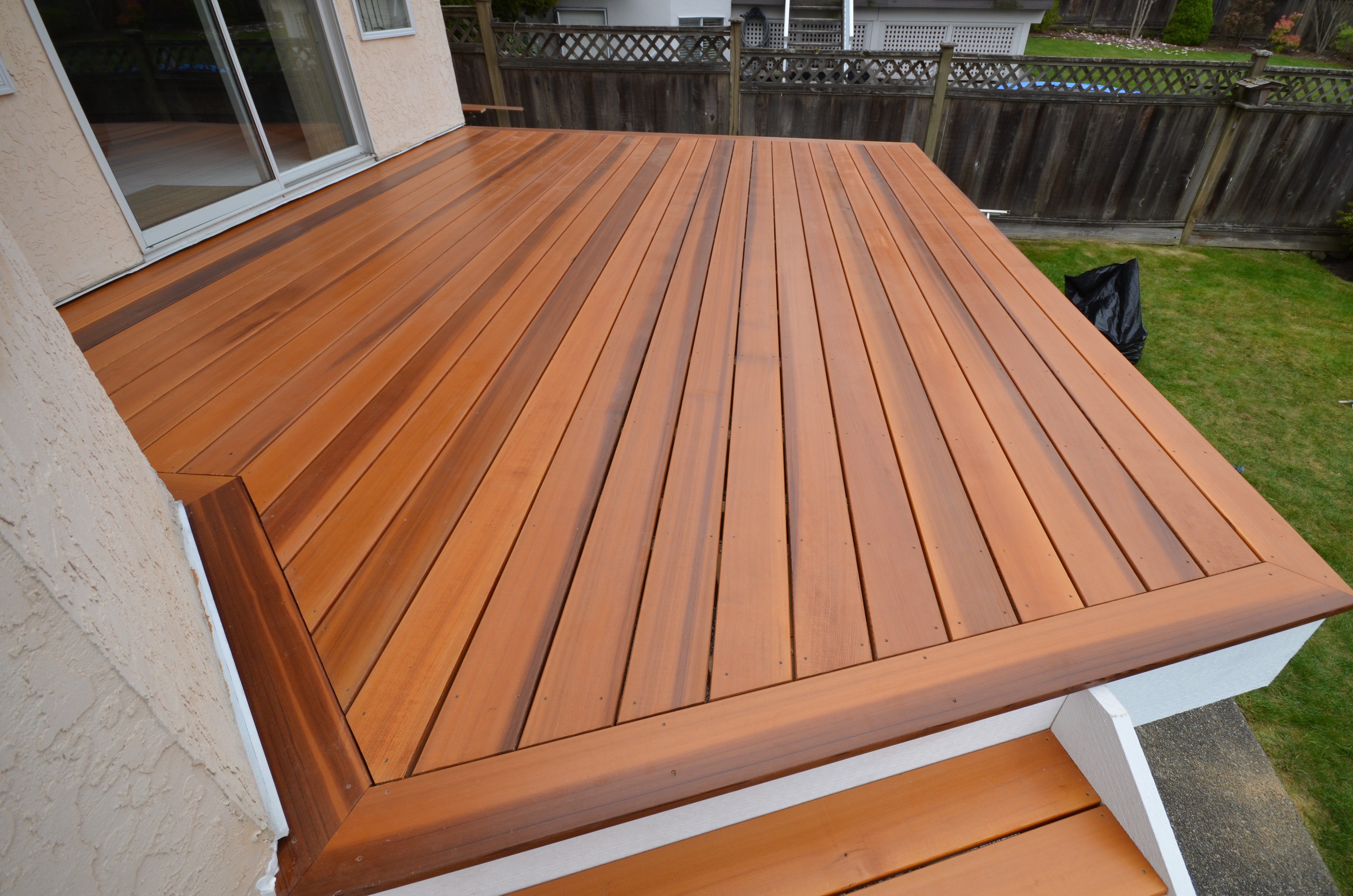 Nothing Is As Clic West Coast A Beautiful Cedar Deck The Problem Was That When You Need To Be Waterproof Typically Weren T Able Have
