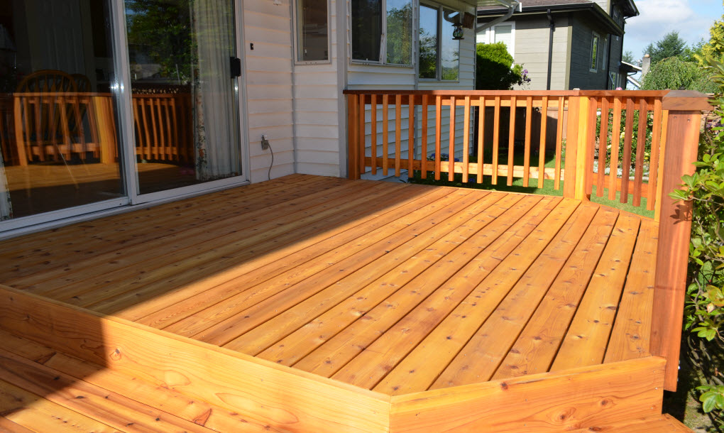 Cedar Decking Is A Clic West Coast Style Nothing More Relaxing Than Sitting On Beautiful Deck Enjoying Barbecue In The Middle Of Summer